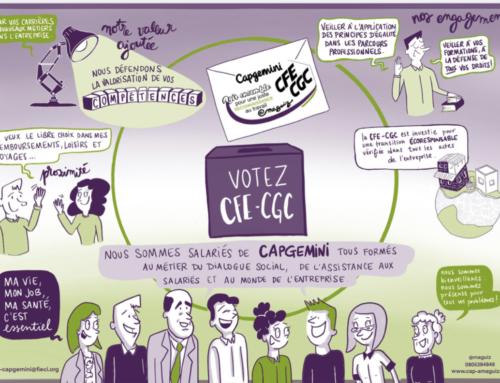 Nous salariés Capgemini, militants CFE-CGC, nous engageons !